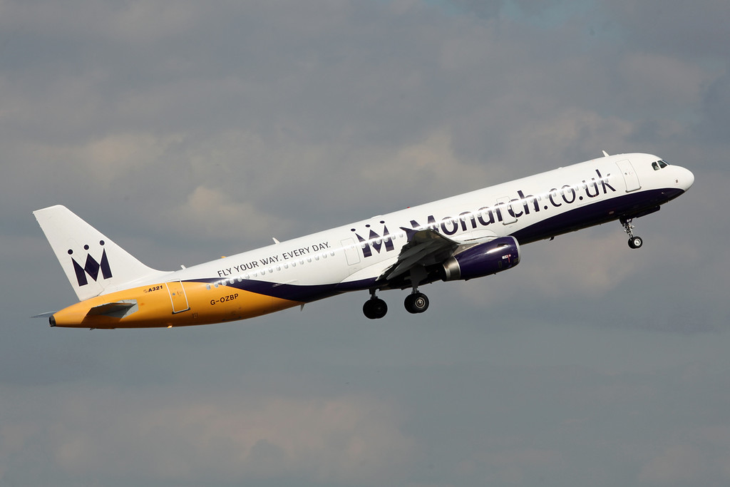 G-OZBP Airbus A321 (Birmingham) Monarch Airlines
