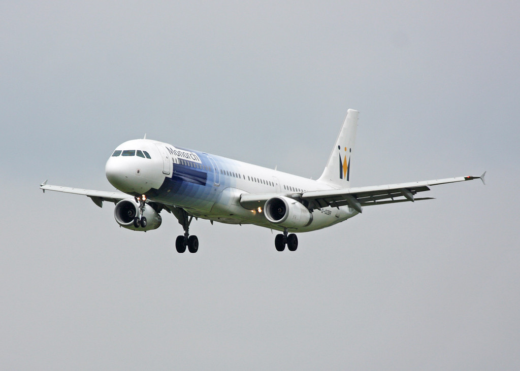 G-OZBR Airbus A321-231 (MAN) Monarch Airlines (Special Scheme)