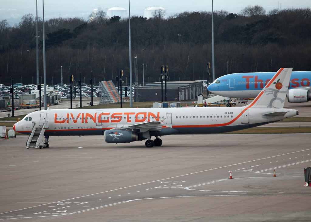 EI-LVD Airbus A321-231 (MAN) Livingston Airlines