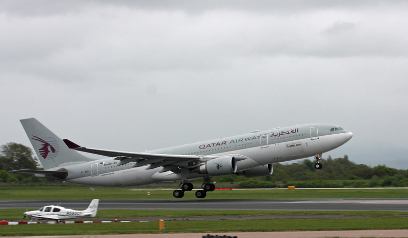 A7-ACD A330-200 (MAN) Qatar Airways
