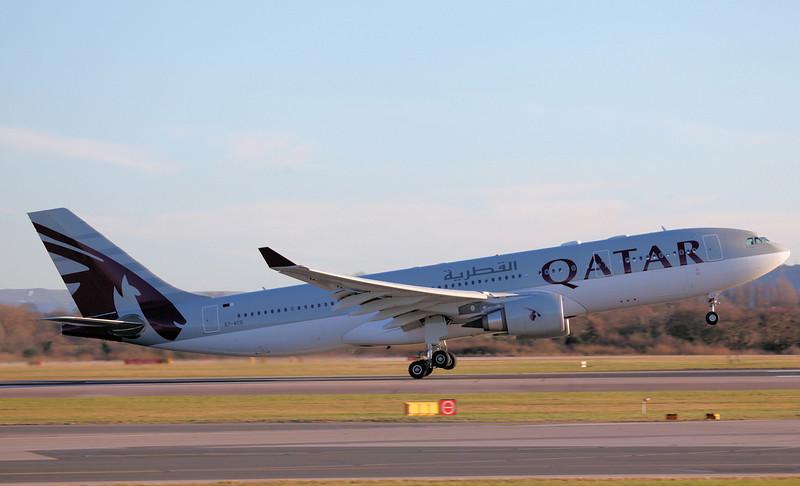 A7-ACG A330-202 (MAN) Qatar Airways