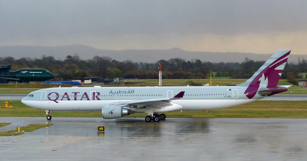 A7-AEE Airbus A330-302 (MAN) Qatar Airways