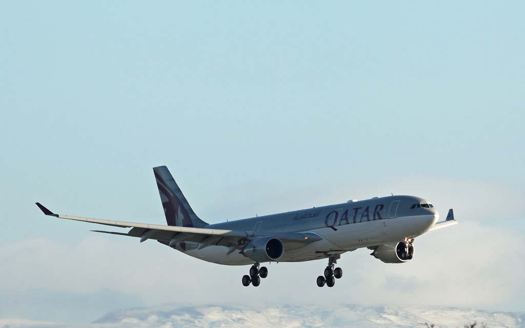 A7-AEG A330-202 (MAN) Qatar Airways