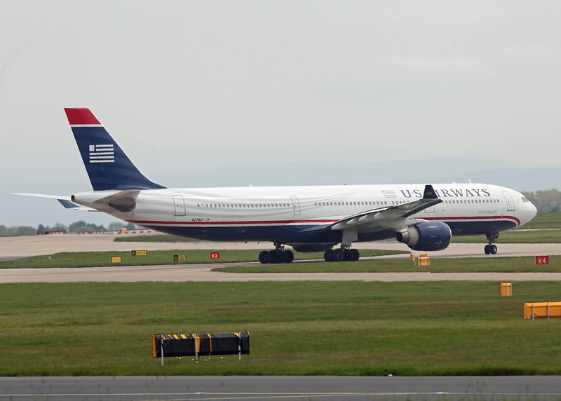 N278AY Airbus A330-300 (MAN) US Airways