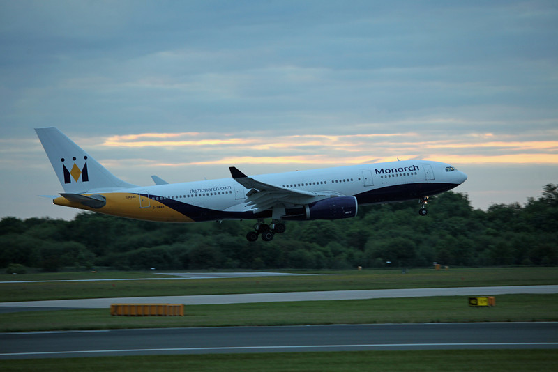 G-SMAN A330-200 (MAN) Monarch