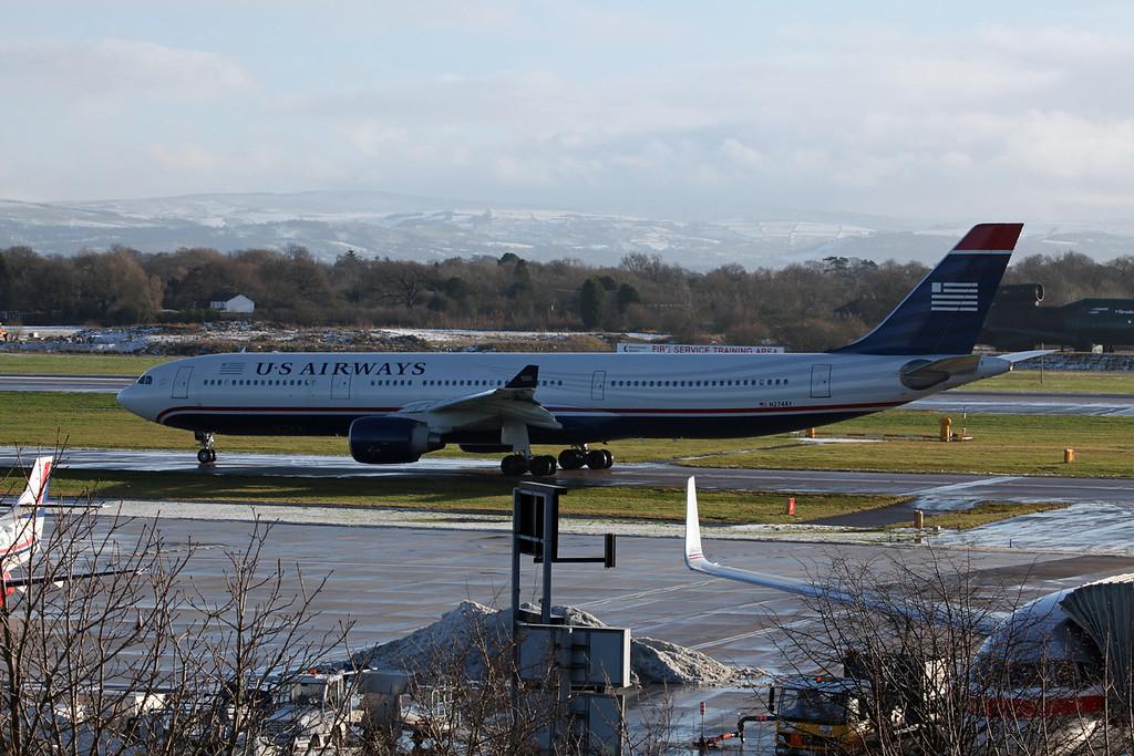 N274AY A330-323X (MAN) US Airways