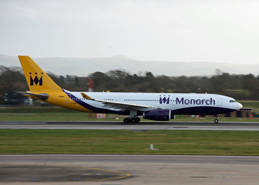 G-EOMA Airbus A330 (Manchester Airport) Monarch Airlines