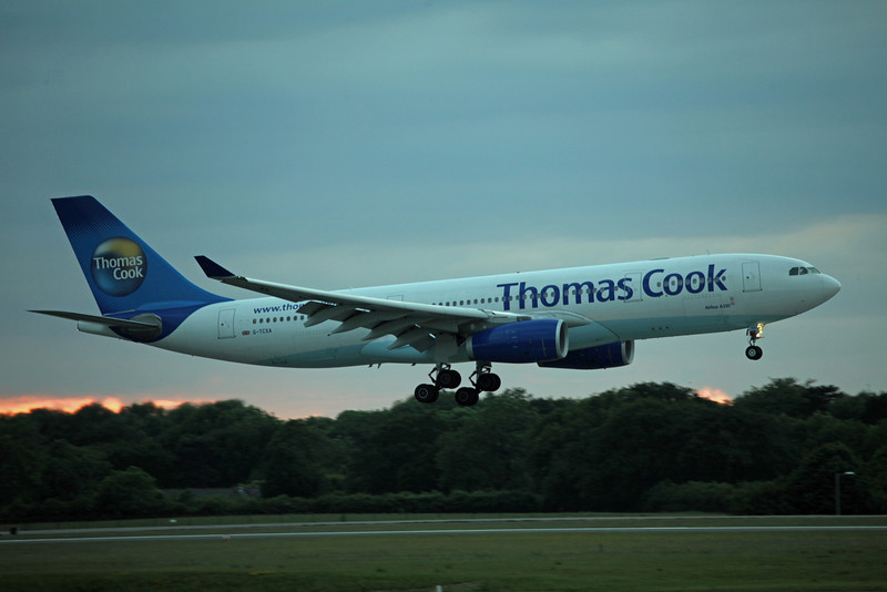 G-TCXA A330-200 (MAN) Thomas Cook