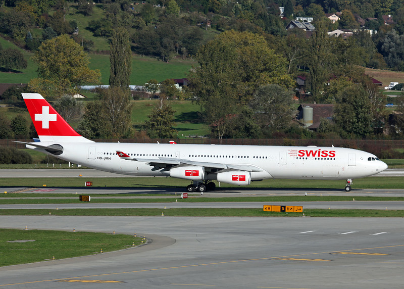 HB-JMH Airbus A340-313 (Zurich) Swiss European Air Lines Ltd