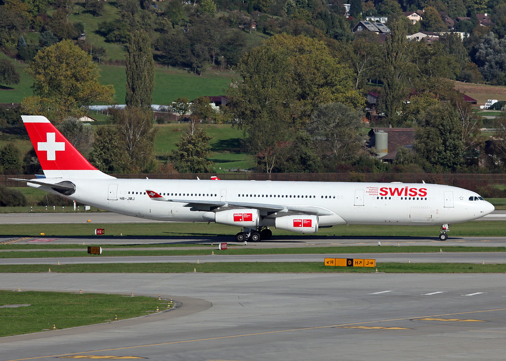 HB-JMJ Airbus A340-313 (Zurich) Swiss European Air Lines Ltd