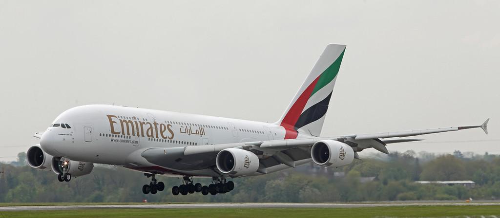 A6-EDE Airbus A380-800 (MAN) Emirates [6]