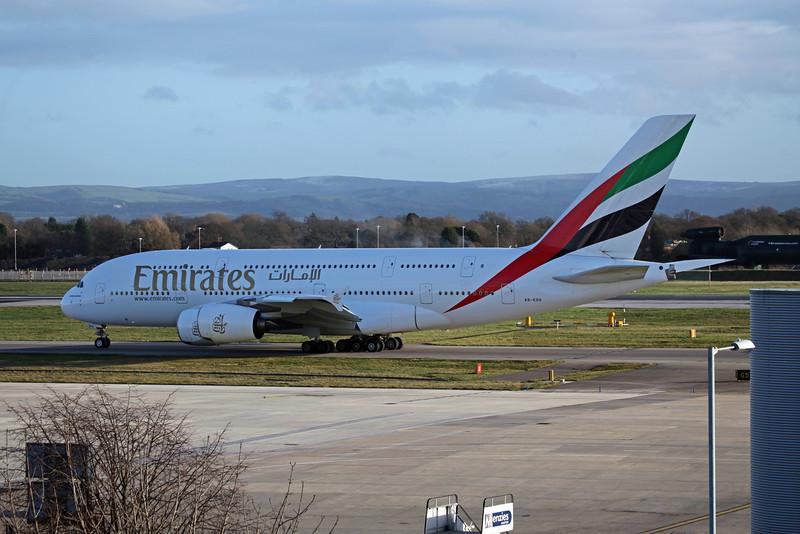 A6 EDG Airbus A380-800 (MAN) Emirates