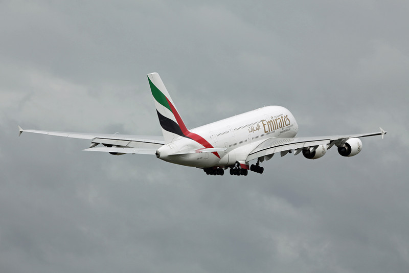 A6-EDP Airbus A380-800 (MAN) Emirates
