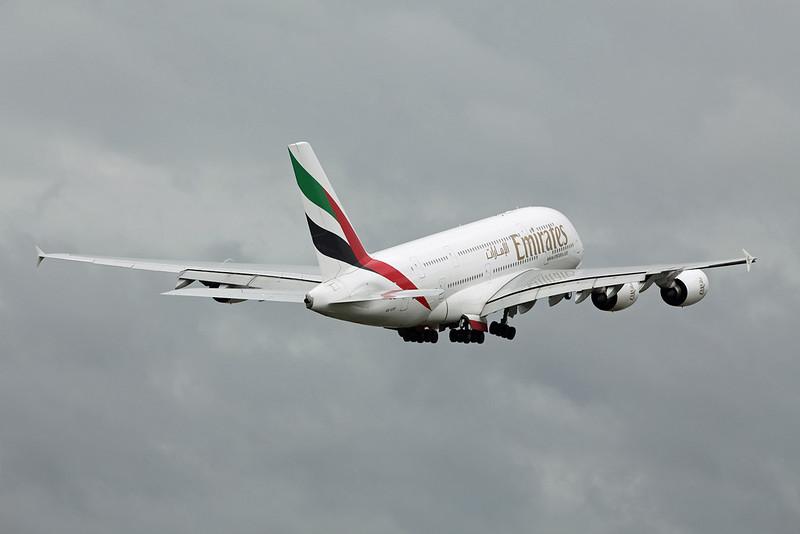 A6-EDP Airbus A380-800 (MAN) Emirates