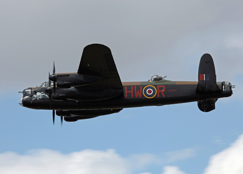 PA474 Avro Lancaster (RAF Fairford) Royal Air Force [Battle of Britain Memorial Flight]