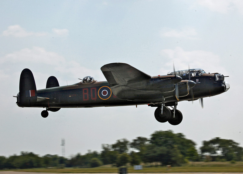 PA474 Avro Lancaster (RAF Fairford) Royal Air Force [BBMF]