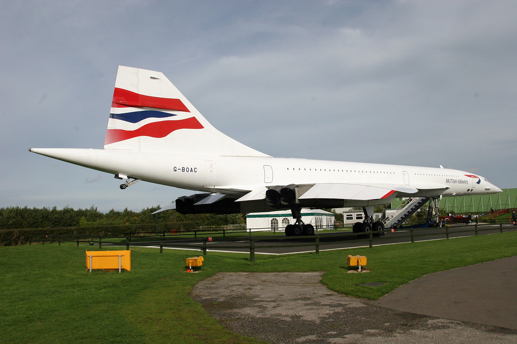 G-BOAC British Aircraft Corp Concorde 1-102 (MAN) British Airways (on display)