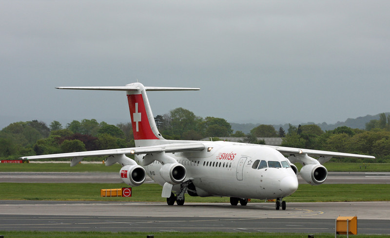 HB-IXO BAE Systems 146 RJ100 (MAN) Swiss
