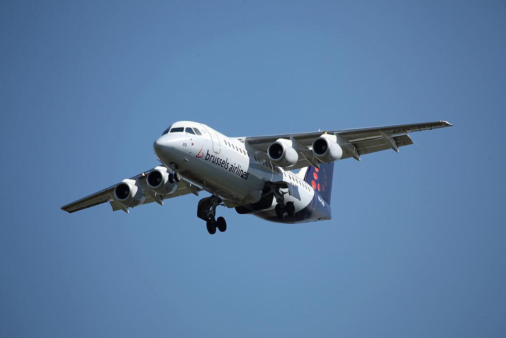 OO-DJQ BAE 146-RJ85 (MAN) Brussels Airlines (2)