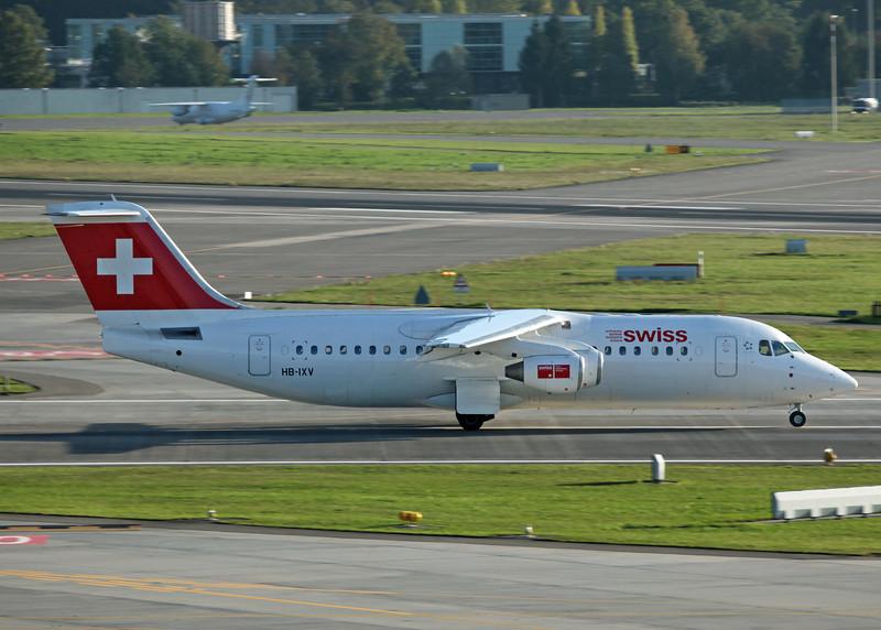 HB-IXV BAe AVRO 146-RJ100 (Zurich) Swiss European Air Lines AG 2