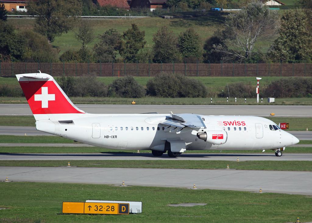 HB-IXR BAe AVRO 146-RJ100 (Zurich) Swiss European Air Lines AG