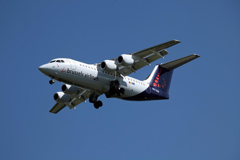 OO-DJQ BAE 146-RJ85 (MAN) Brussels Airlines