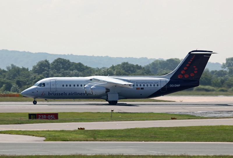 OO-DWF BAE 146-RJ100 (MAN) Brussels Airlines (3)