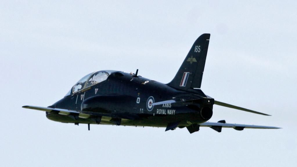 XX165 BAE Systems Hawk T1 (RNAS Culdrose) Royal Navy
