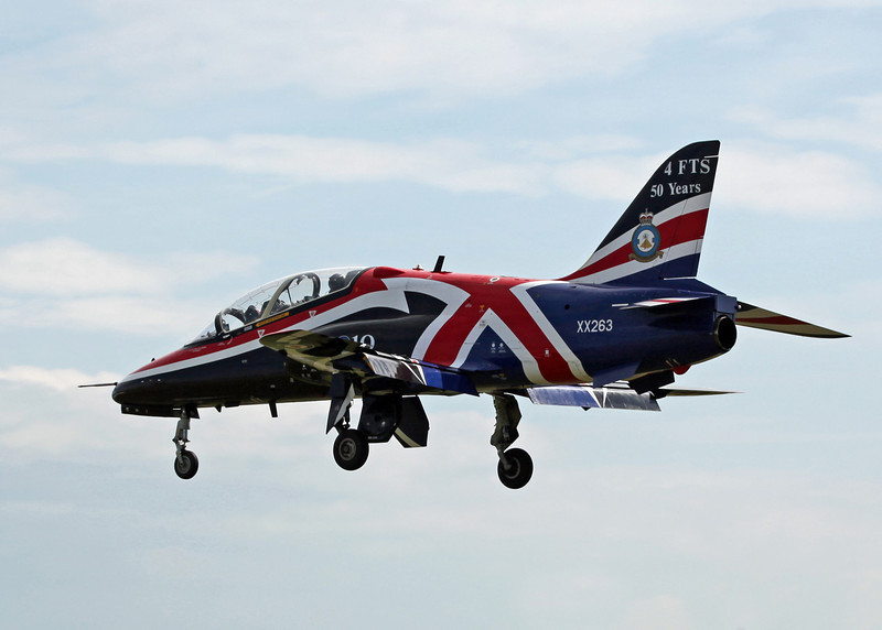 XX263 BAe Systems Hawk T1A