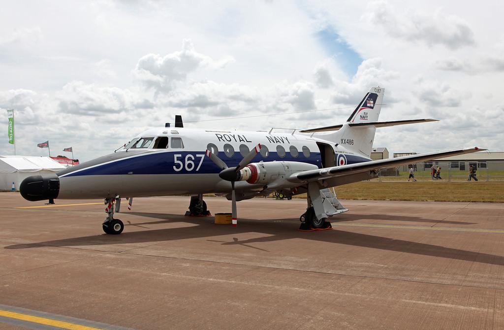 XX486 BAe Systems Jetstream T2 (RAF Fairford) Royal Navy [RIAT 2010]