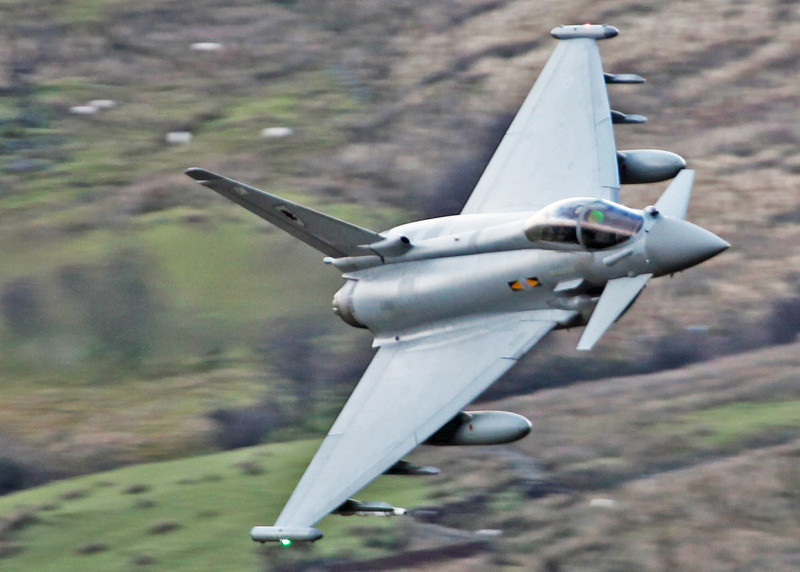 ZJ923 BAe Eurofighter EF-2000 Typhoon FGR4 (Cad West Wales) Royal Air Force [3 squadron] 6
