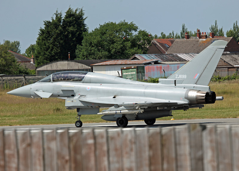 ZJ699 BAe Eurofighter Typhoon T1 (Warton) Bae Systems