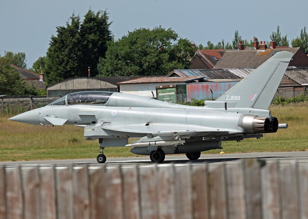 ZJ699 BAe Eurofighter Typhoon T1 (Warton) Bae Systems