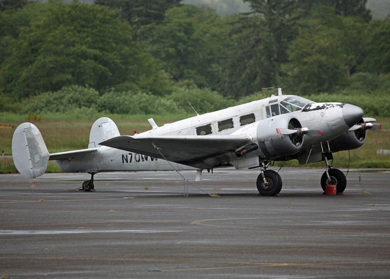 N70WW Beech D18S (Astoria Regional Airport) Private