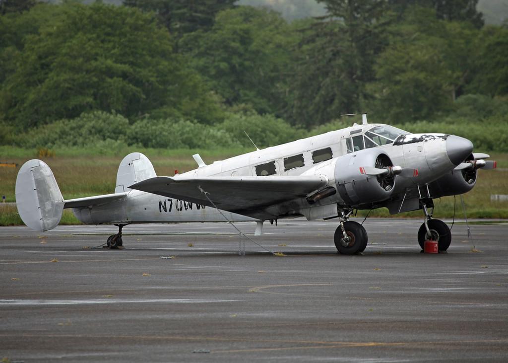 N70WW Beech D18S (Astoria Regional Airport) Private