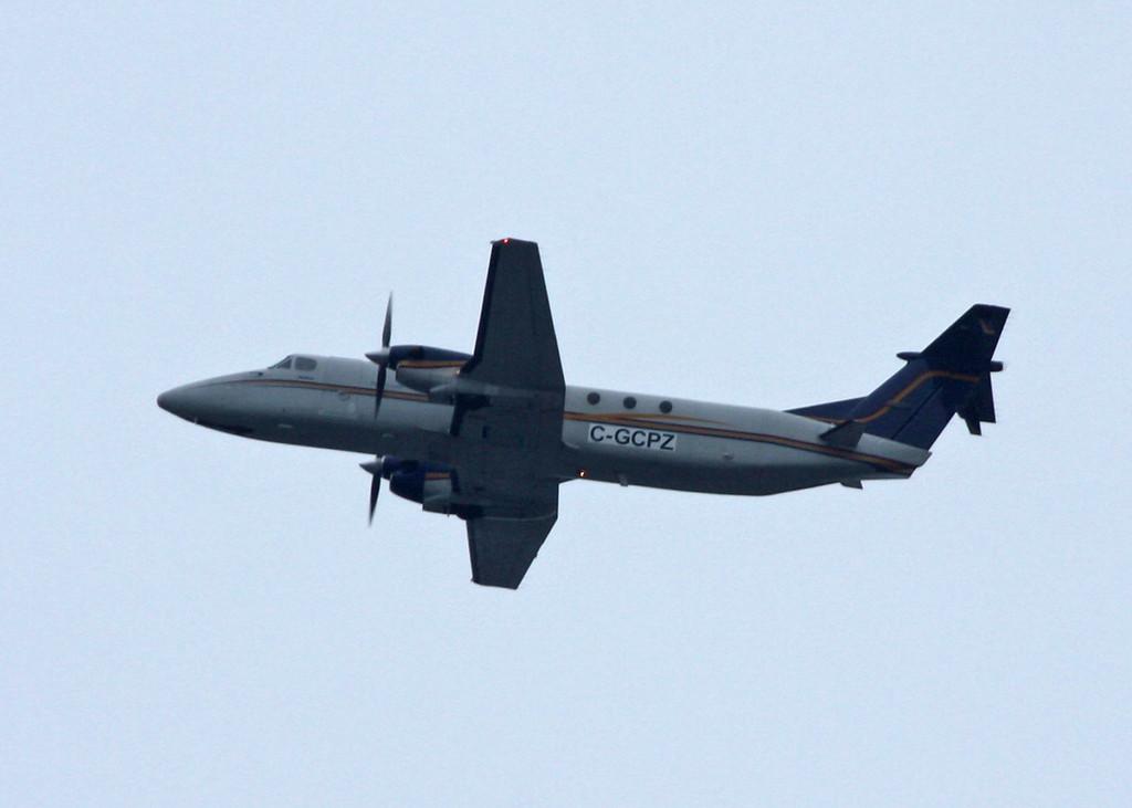 C-GCPZ Beech 1900C (In flight over Vancouver) Pacific Coastal Airlines Ltd