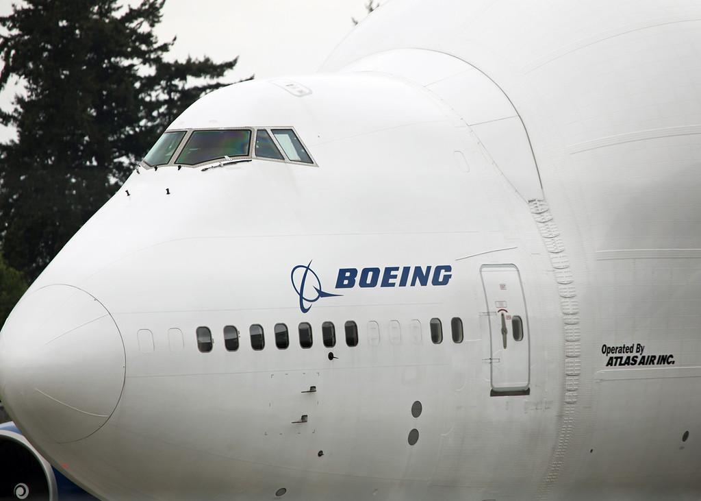 N718BA Boeing B747-4H6 (Boeing Field) Boeing Aircraft Co 2