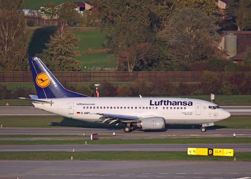 D-ABIT Boeing B737-500 (Zurich) Luthansa