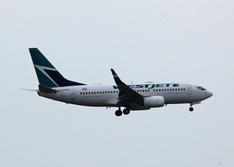 C-GWCN Boeing B737-7CT (Vancouver International) Westjet