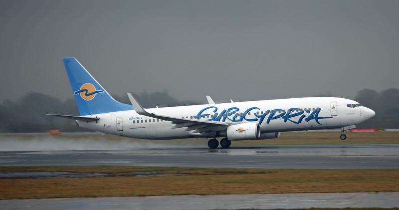 5B-DBV Boeing B737-8Q8 (MAN) Eurocypria