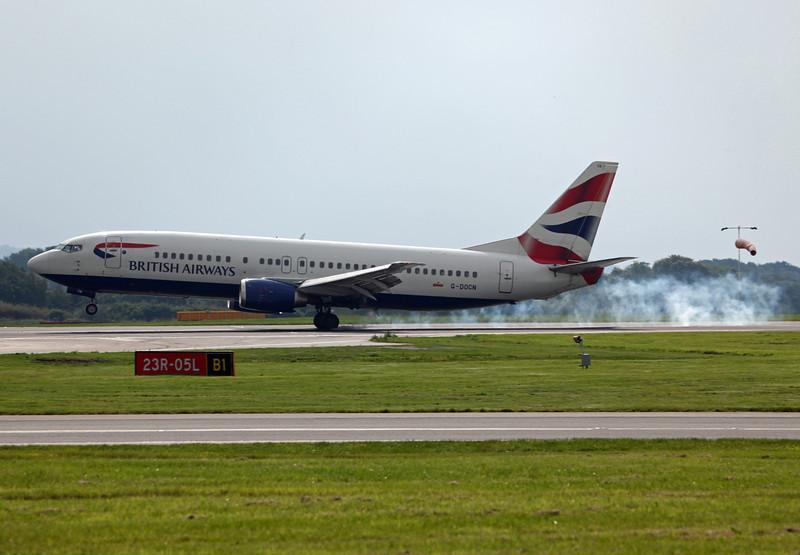 G-DOCN B737-400 (MAN) British Airways