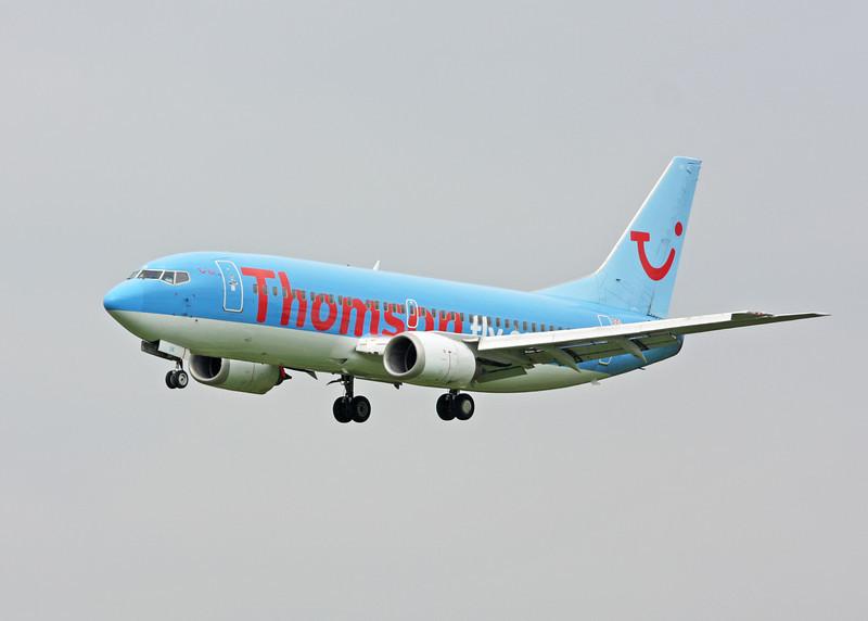G-THOK Boeing B737-36Q  (MAN) Thomsonfly