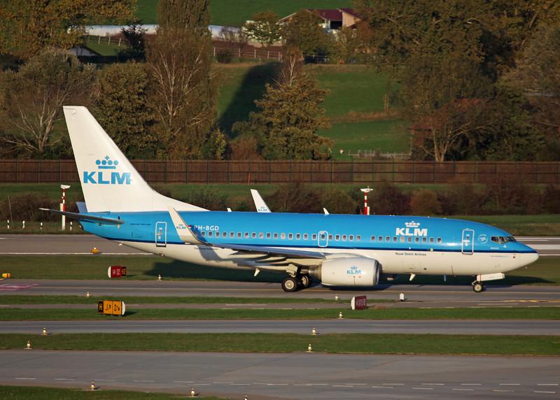 PH-BGD Boeing B737-700 (Zurich) KLM