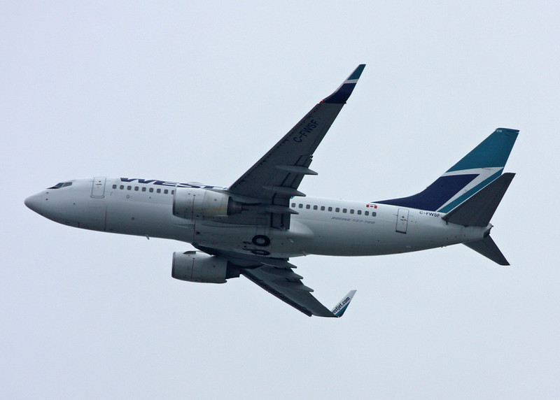 C-FWSF Boeing B737-7CT (Vancouver International) Westjet