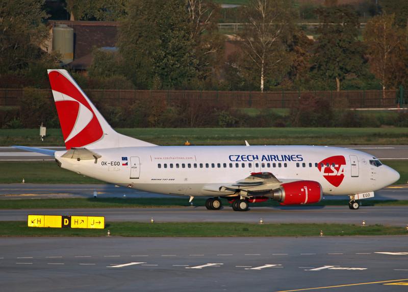 OK-EGO Boeing B737-500 (Zurich) Czech Airlines