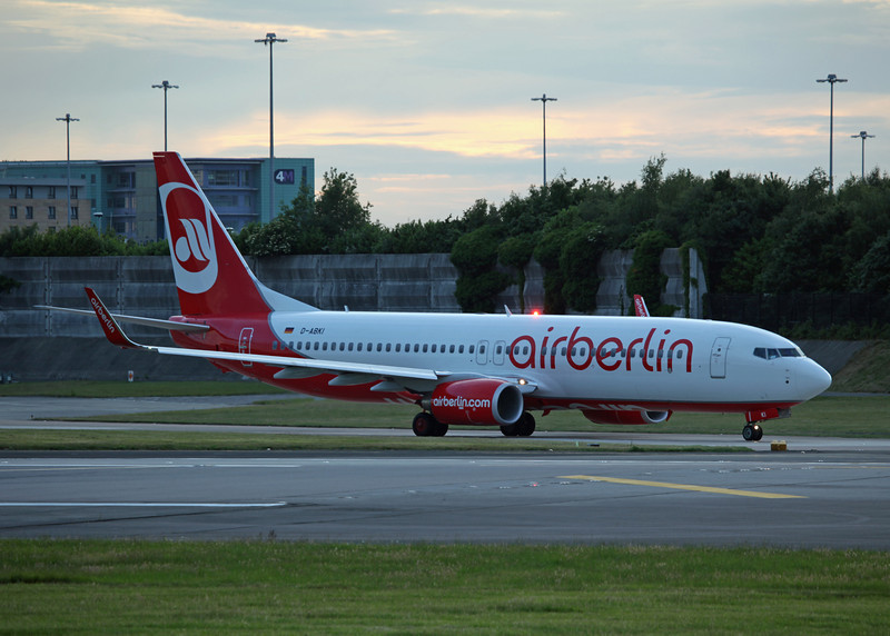 D-ABKI Boeing B737-800 (MAN) Air Berlin 1