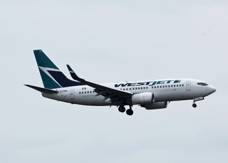 C-FWBL Boeing B737-7CT (Vancouver International) Westjet