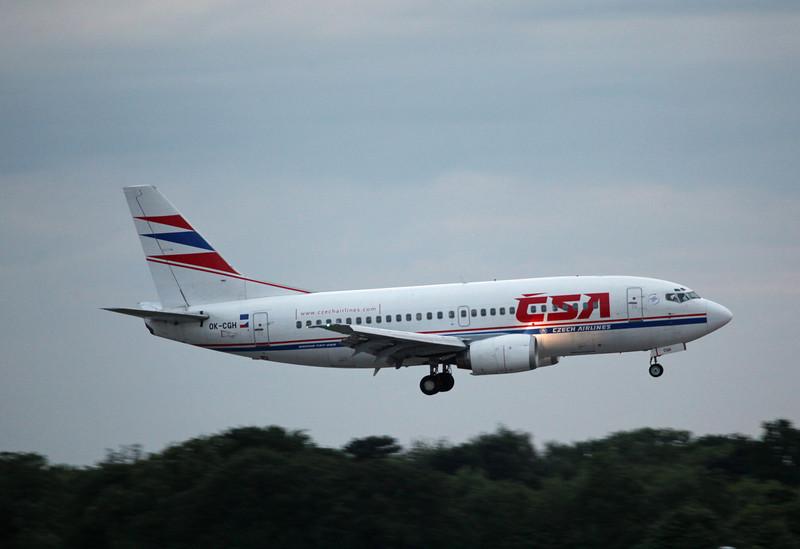 OK-CGH B737-500 (MAN) CZECH Airlines [CSA]