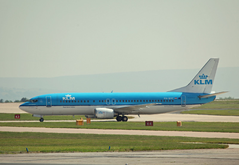 PH-BPC B737-400 (MAN) KLM