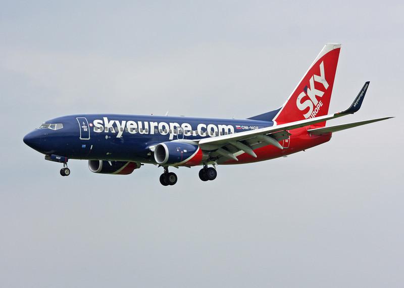 OM-NGF Boeing B737-76N (MAN) SkyEurope Airlines